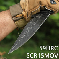 Outdoor knives Self- defense Short Knives Army Knives Camping...