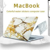 Marble Pattern ноутбука Case для Apple Macbook Pro Retina Air 11 12 13 15, Mac новый Air / Pro 13 дюймов A1932 A1708 Cove