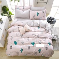 PAPA&MIMA fashion bed line Bedding sets fashion cactus bed S...