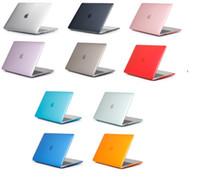 MacBook-Hüllen für Air Pro 11 12 13-Zoll-Kristall glänzend Hartfront zurück Ganzkörper-Laptop-Gehäuse Shell-Cover A1369 A1466 A1708 A1278 A1465