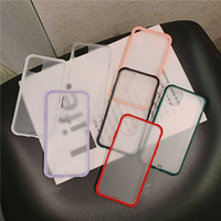 Transparent Scrub Cell Phone Case For iphone 11 Pro Max XS M...