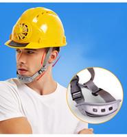 Casque de ventilateur de puissance solaire Sécurité extérieure Sécurité de travail Hard Construction Lieu de travail ABS Capuchon de protection Populaire par panneau solaire