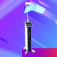 Top 5star feedback 4 colores PDT LED Máquina de rejuvenecimiento de la piel Fotón LED Terapia de luz facial piel tonificación eliminación de arrugas dispositivo de belleza