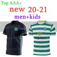 20 21 Celtic Home Soccer Jerseys Edouard 2020 2021 Brown Forrest Christie Football Shirt Griffiths Celtic 3rd McGregor Men + Kids Kit Jersey