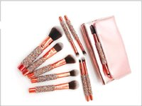 New 10 PCS set eye shadow Blush Makeup Brushes Set Foundatio...