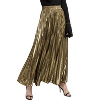 2019 spring summer new pleated skirts wholesale large size P...