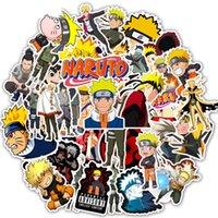 50 adet / Set Anime Çizgi Naruto Çıkartma Su geçirmez PVC Araç Su Şişesi Gitar Snowboard Motosiklet Sticker Çocuk Oyuncak Soğuk