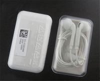 Casque d'écouteurs de S6 originaux 3,5 mm dans les écouteurs oreillettes avec contrôle de volume micro pour Samsung S6 S7 Edge avec boîte à cristaux de vente au détail