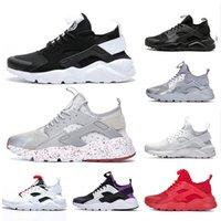 Designer Air Huarache OG Ultra 1.0 4.0 Homens Running Shoes Vapores Huaraches Sneakers Triplo Branco Preto Mulheres Sports Trainers Maxes SZ36-45
