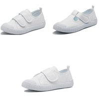 Baby Shoes Kids Canvas Shoes White Casual Loafers Child Summ...