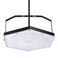 워크샵 주차장 조명을위한 영국 증권 300W LED 높은 베이 빛 육각 조명기구 플러드 라이트 스포트 라이트 밝은 창고 공장 설비 220V