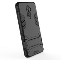 Pour Oppo Reno Ace Case Qualité simple support robuste Combo hybride Armure d'impact Support Holster Housse de protection pour Oppo Reno Ace