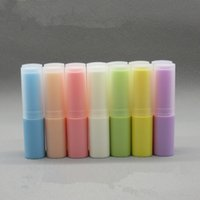 30pcs 4g Empty Red Pink Blue Purple Cosmetic Small Lipbalm T...