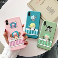 One Piece Япония аниме Луффи Тони Чоппер ACE Candy TPU чехол для Apple iPhone 11 Pro 7 8 6 6S Plus X XS Max ХГ Soft Phone Cover