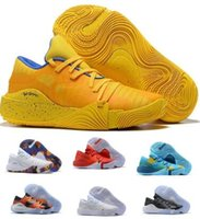 New Stephen 30 USA Basketball Shoes Sneakers Low Cut Yellow ...