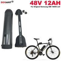 48v 12ah Batería de litio de bicicleta eléctrica para Samsung 30B original para Bafang 800W 1200W Motor 48V batería de bicicleta eléctrica Envío gratis