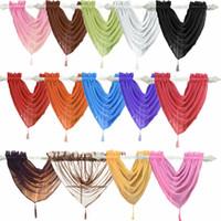 الفوال الستار سوجس جميع الألوان ستارة الستارة صافي الستائر الفوال 15 أنواع