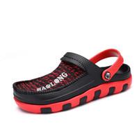 Hot Sale-Crocse Crocks Hommes Sandales Piscine d'été extérieure CholasBeach Chaussures homme Slip On Garden Clogs Douche d'eau Casual LiteRide Crock