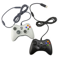 Hassas ve Konfor USB Kablolu Gmae Kontrolörü Joystick Gamepad Xbox 360 / Kablolu Gamepad Ücretsiz Nakliye