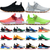 With box infinite species NMD Human Race running shoes men w...