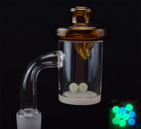 25mm 4mm Thick Quartz Banger Nail Carb Cap with 10mm 14mm 18...