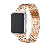 Edelstahl für Designer-Apfel-Uhrenarmband 42mm 38mm 40mm 44mm Armband Apfel Uhrenarmbänder für Bands Apfel-Uhr-Serie 5 4 3 2