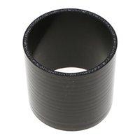 Silicone haute température 4-Ply droite renforcé Coupler Tuyau, 0.3Mpa à 0.9Mpa Pression, 3 pouces Longueur, 2 pouces ID