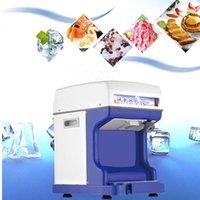 220V 50Hz Tayvanlı traş buz makinesi ticari traş dondurma makinesi elektrikli popüler kar dondurma makinesi