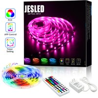 5050 RGB WiFi controlador LED tira luz 5m 10m 30led / m néon fita fita fita fita fita bluetooth controle de música 24v adaptador de energia