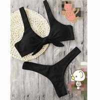 Sexy Womens Swimsuits Women Two- piece Bikini Sets Girls Soli...