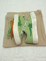 Uomo TTC Creator One Star Ox Golf Le Fleur Canvas Shoes Womens Jelly Suede Moda All Scarlet Green Yellow Sneakers 35-44