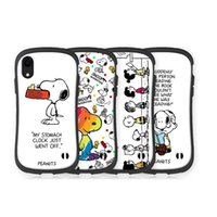 Nette karikatur snoopys phone cases für iphone x 8 7 plus tpu cartoon weiche rückseitige abdeckung für iphone 7 6s xr xs max