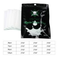 5pcs / bag Borsa di Resina Press 36/72 / 90 / 120um micron nylon filtro pressa sacchetti di carta per Vape concentrato Wax Oil Exracting corredo della macchina