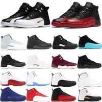 Jumpman Basketball 12 XII Scarpe Designer Sport Ali Ali CNY TAXI Playoff Flu Gioco Scarpe da corsa Per Uomo Donna Sneakers Sneakers