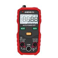 Digital-Multimeter True RMS Auto Range Professionelle LCD automatische Smart-Multimeter Spannung Amperemeter Tester messen DC / AC-Werkzeug