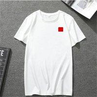 2020 neue Herren T-Shirt Europäische amerikanische populäre kleine rote Herzdrucken T-Shirt Männer Frauen Paare T-Shirt