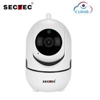 SECTEC 1080P Bulut Kablosuz IP Kamera Akıllı Akıllı Ev Kapalı Güvenlik Gözetim CCTV Ağ Wifi Cam Of Akıllı Otomatik İzleme