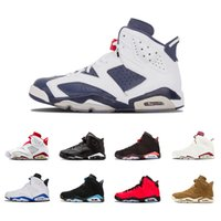 2f9e7a93c72a New Arrival. 2018 Cheap 6 6s Mens Basketball shoes man unc Black Cat  Infrared sports blue Maroon Olympic ...