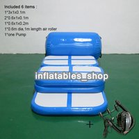 Gonfiabile Air Track A Set (6 pezzi) Air Tumbling Mat Gym Air Mat Airtrack gonfiabile per la vendita