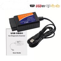 OBD2 ELM327 USB V1. 5 автомобильный диагностический интерфейс USB-кабеля поддерживает все протоколы OBD2 для сканера Window ELM 327 USB OBD