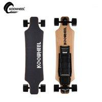 Patear scooters koowheel actualización versión eléctrica longboard 4 ruedas scooter 5500mAh batería de litio removibleChargable skateboard1