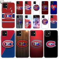 Montreal Canadiens TPU silicone suave Phone Case Capa para iPhone 11 pro XS MAX 8 7 6 6S Plus X 5 5S SE XR cobrir atacado