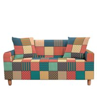 Cubiertas de silla con resistencia geométrica Sofá de strillo de la cubierta Sofá Sofá Casa Sala de estar Slegover Sillón Sillón Securacion