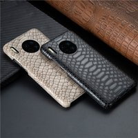 Luxury Snake Skin Leather Case for Huawei P30 Mate 20 30 P20...