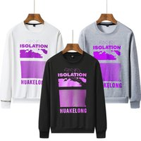 Men Jacket Europe and the Hoodies Sweater Solid Hoodies colo...