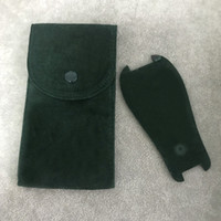 녹색 시계 보호 포켓 보호 케이스 시계 선물 그린 스토리지 가방 포켓 시계 플란넬 주머니 망 여자 부드러운