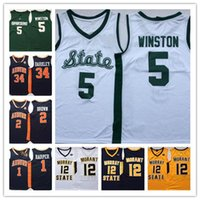 Michigan State Spartans Beyaz 5. WINSTON 34 BARKLEY 50 VVILEY Murray State Racers 12 MORANT Virginia 5 GUY