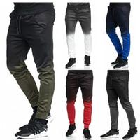 Goocheer 2019 Jogger pantaloni uomini di modo di sport di allenamento di ginnastica di Hip Hop Traccia Pantaloni lunghi Pantaloni