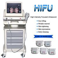 Corpo dimagrante ad ultrasuoni ad ultrasuoni macchina della terapia ad ultrasuoni portatile a ultrasuoni della pelle di serraggio della pelle HIFU Sbiancamento della pelle che sbiancamento del viso Prodotti
