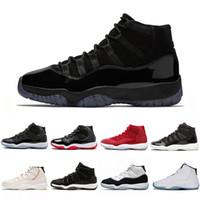 Yüksek kaliteli Basketbol Ayakkabı Concord Yüksek 45 11 XI 11'ler Şapkanız PRM Heiress Gym Chicago Platin Ton Space Jam spor Spor ayakkabılar